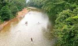 Coxipó do Ouro - Vista do Rio Coxipó do Ouro-Foto:ybrfaria