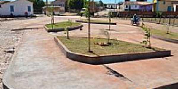 Praça no distrito de Botuquara-BA-Foto:Dênis Santana