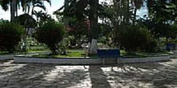 Praça central de Figueirópolis D´Oeste-Foto:delmir m@l