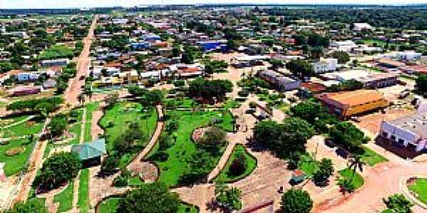 Imagens da cidade de Gaúcha do Norte - MT