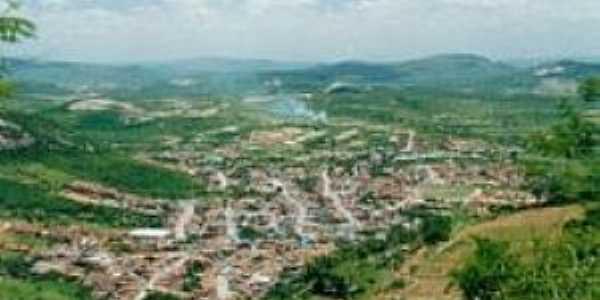 Brejo da Serra-BA-Vista da cidade do alto da serra-Foto:grupotdiego