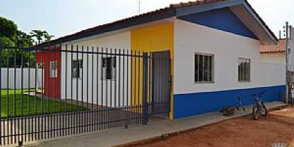 Irenópolis-MT-Centro de Educação Infantil-Foto:PMJUS