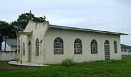 Itaúba - Igreja São Cristóvão na Vila Castanhal município de Itaúba-Foto:Eduardo Gomes de Andrade