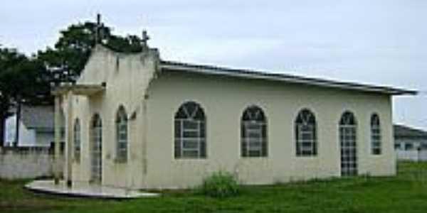 Igreja S�o Crist�v�o na Vila Castanhal munic�pio de Ita�ba-Foto:Eduardo Gomes de Andrade