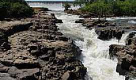Itiquira - Sangradouro da Hidroelétrica em Itiquira-MT-Foto:Cassio Scomparin