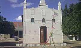 Brejo Luíza de Brito - Igreja de Luiza de Brito-BA-Foto:liberdade-bom.