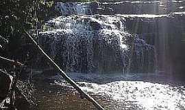 Juara - Juara-MT-Cachoeira do Assentamento Escondido-Foto:Juaranet