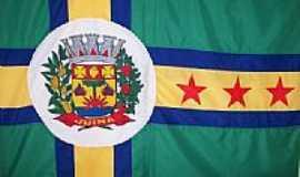 Ju�na - Bandeira da cidade de Ju�na-Foto:nogami.andre
