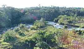 Juína - Vista do rio na saída da Usina em Juína-MT-Foto:elizeualmeidafesa
