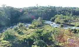 Ju�na - Vista do rio na sa�da da Usina em Ju�na-MT-Foto:elizeualmeidafesa