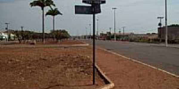 Entrando na cidade de Mirassol D´Oeste-Foto:Elson Nunes S.P.