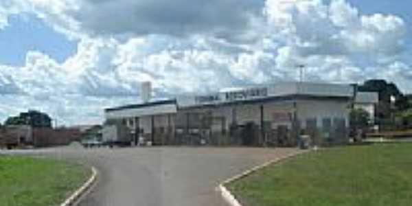 Terminal Rodoviário em Mirassol D´Oeste-Foto:D.e.L