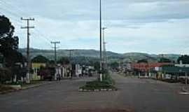 Nobres - Entrada da cidade de Nobres-MT-Foto:Devalnir