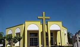 Nobres - Igreja Matriz de São Sebastião em Nobres-Foto:Vicente A. Queiroz
