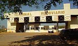 Nobres - Terminal Rodoviário de Nobres-MT-Foto:pres_fhe