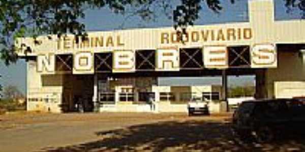 Terminal Rodoviário de Nobres-MT-Foto:pres_fhe