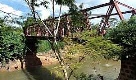 Nossa Senhora da Guia - Nossa Senhora da Guia-MT-Vista da ponte e rio-Foto:www.facebook.com