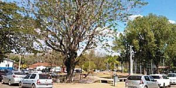 Nossa Senhora da Guia-MT-Praça central-Foto:www.facebook.com