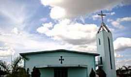 Nova Canãa do Norte - Igreja Matriz do Sagrado Coração de Jesus foto Vicente A. Queiroz