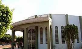 Nova Lacerda - Igreja Matriz N.S.do Carmo foto Vicente A. Queiroz