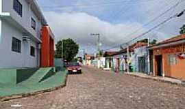 Nova Marilândia - Rua da cidade-Foto: Edson Cavalar Walter ...
