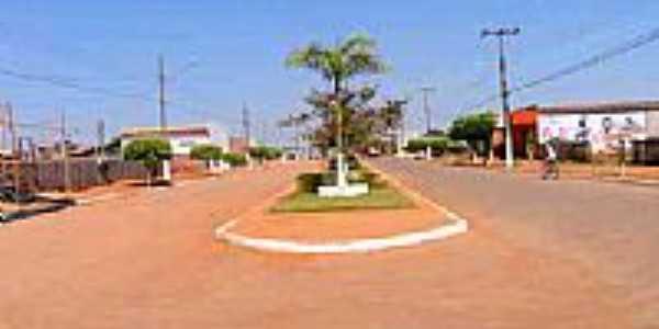 Avenida em Nova Maringá-Foto:Edson Cavalari