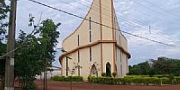 Igreja de Nova Monte Verde-Foto:Paulo Noronha