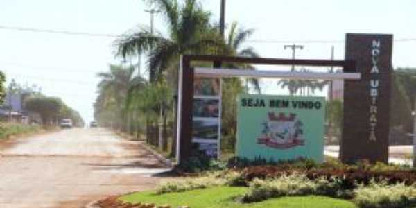 Portal - Entrada de Nova Ubiratã, Por CLEONICE GOMES DA SILVA MAYNART