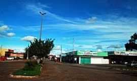 Nova Xavantina - Nova Xavantina-MT-Avenida Principal-Foto:Joventino Neto