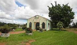Nova Xavantina - Nova Xavantina-MT-Capela de São Cristóvão em Agrovila Vale da Serra-Foto:Edinisio Gonçalves Pereira Vieira
