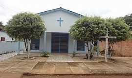 Nova Xavantina - Nova Xavantina-MT-Capela de São Miguel Arcanjo-Foto:Edinísio Gonçalves Pereira Vieira