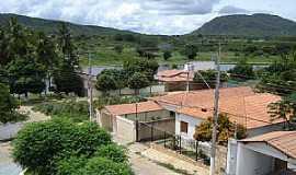 Brotas de Macaúbas - Brotas de Macaúbas-BA-Vista parcial da cidade o Tanque e a Serra-Foto:george-queiroz
