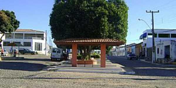 Brotas de Macaúbas-BA-Praça da Bandeira-Foto:george-queiroz