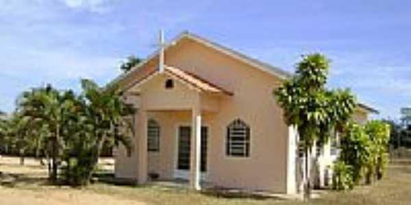Igreja São Tiago na Vila Novo Paraná-Foto:Eduardo Gomes de Andrade