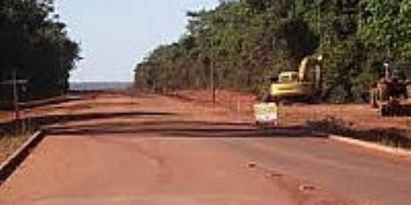 Rodovia em Novo Paraná-Foto:portonoticias.