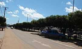 Paranaíta - Paranaíta-MT-Avenida central-Foto:dalcio e marilda beregula