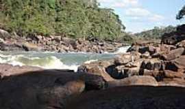 Paranaíta - Paranaíta-MT-Cachoeira Sete Quedas no Rio Teles Pires-Foto:João Henrique Rosa