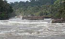 Paranaíta - Paranaíta-MT-Cachoeira Sete Quedas no Rio Teles Pires-Foto:medh
