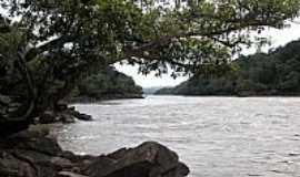 Paranaíta - Paranaíta-MT-Corredeira da Cachoeira Sete Quedas no Rio Teles Pires-Foto:medh