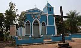 Poconé - Igreja do Senhor Menino Jesus em Poconé-Foto:Eduardo Gomes de Andrade