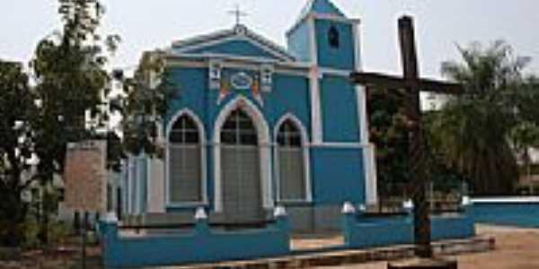 Igreja do Senhor Menino Jesus em Poconé-Foto:Eduardo Gomes de Andrade