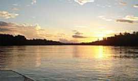 Pontal do Araguaia - Pôr do Sol em Pontal do Araguaia-Foto:josefleury