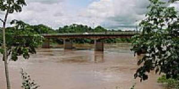 Ponte em Pontal do Araguaia-Foto:Leandro A lluciano