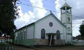 Ponte Branca - Ponte Branca-MT-Paróquia Senhor Bom Jesus da Lapa-Foto:diocguiratinga.webnode.com.br