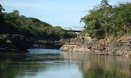 Ponte Branca - Ponte Branca-MT-Rio Araguaia-Foto:Vicentemf
