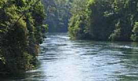 Ponte de Pedra - Rio Ponte de Pedra-Foto:Edson Cavalar Walter ...