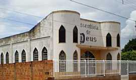 Pontes e Lacerda - Pontes e Lacerda-MT-Igreja da Assembléia de Deus no Bairro São José-Foto:Mauricio M. dos Anjos