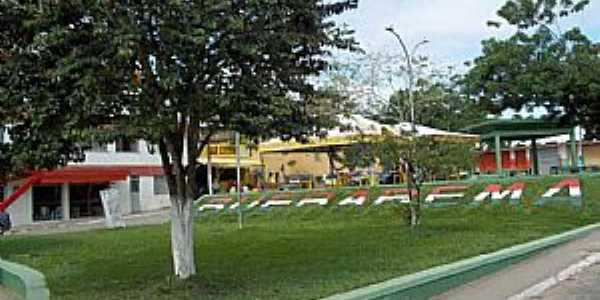 Buerarema-BA-Praça Central-Foto:Eliete Amparo