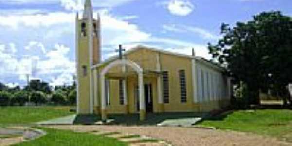 Igreja Matriz Nossa Senhora da Abadia na cidade de Ribeir�ozinho-Foto:Eduardo Gomes de Andrade