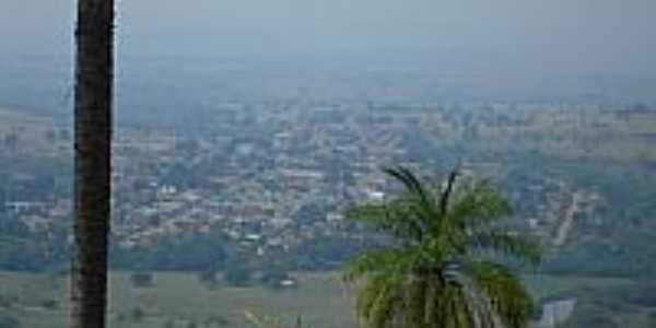 Rio Branco-MT-A cidade vista da serra-Foto:LuizFaria